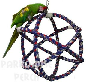 ATOM pour PERROQUETS (Mother Pluckin' Bird Toys)