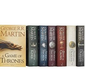 A song of ice and fire book set, unread