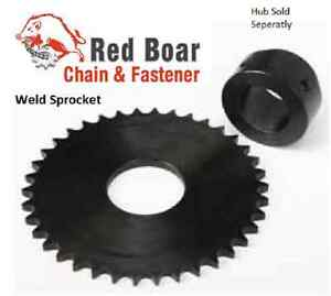 50X24 Weld Sprocket 24 Teeth for #50 Roll Chain, Fits X Series Weld Hub