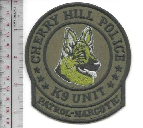 K-9 Police New Jersey Cherry Hill Police Department Canine Officer Mika Patch ac