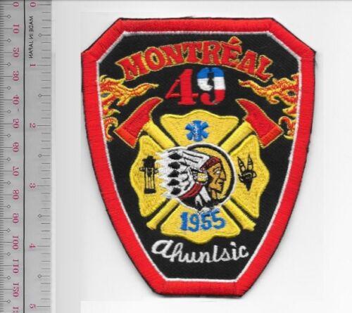 Montreal Fire Department Fire Station 49 Casene Ahuntsic Service d