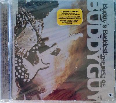 BUDDY GUY - BEST OF BUDDY GUY - SILVERTONE CD + HYPE STICKER - STILL SEALED
