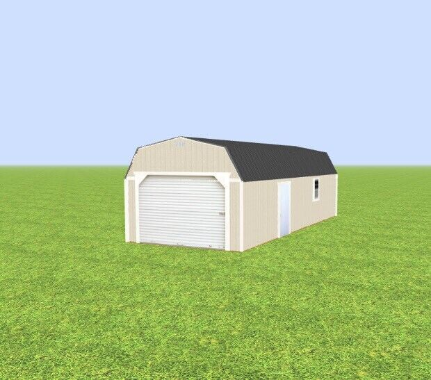 Garage , Prebuilt Ready For Delivery Now On Sale