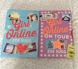 Brand new girl online & girl online on tour books by Zoe Sugg
