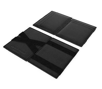 DARDON Magic Wallet Designer Italian Leather Genuine Calfskin Plus RFID (Calfskin Wallet)