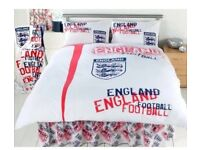 Job Lot £2 each Wholesale Joblot Official England Reversible Duvet Sets Double & Single Bedding