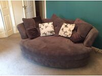 Cuddle Couch with cushions