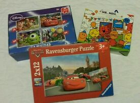 Jigsaw puzzles for 3+