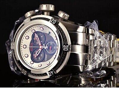 Invicta Reserve Bolt ZEUS Swiss Black GUNMETAL CABLES Jublee Bracelet Watch