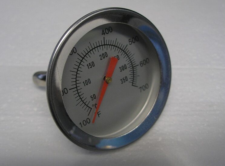 Brinkmann Gas Grill Temperature Gauge Stainless 100 F - 700