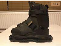 K2 unnatural aggressive skates size 9uk new!!