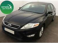 ONLY £141.75 PER MONTH BLACK 2011 FORD MONDEO 2.0 ZETEC DIESEL MANUAL
