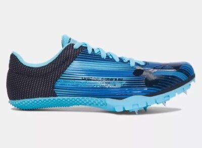 Under Armour Kick Sprint Track Woman Field Spikes 1297114-448 Size 7.5 NO SPIKES
