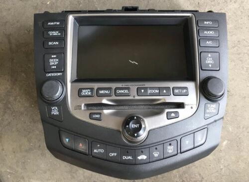 Honda Accord Climate Radio Navigation With Code - $190.00