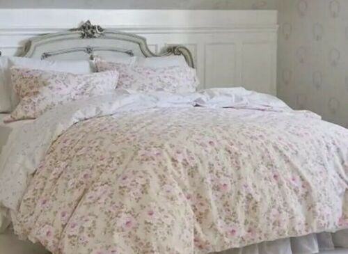 Shabby Chic FULL/QUEEN 3 piece Duvet Cover Set DUTCHESS ROSE