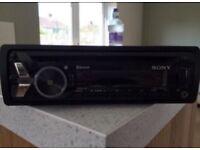 Sony Bluetooth car CD player