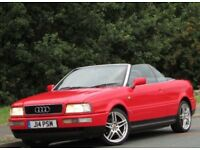 +++Audi Cabriolet 2.0 E 2dr +FUTURE CLASSIC++12 MONTHS MOT++