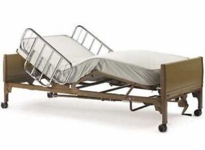 Fully electric Invacare hospital bed