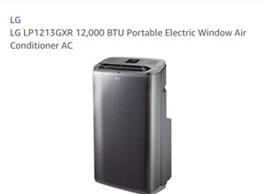 LG Portable Air Conditionner with remote control