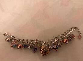 Guess charm bracelet.