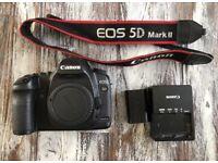 Canon 5d mkii mk2 professional photography DSLR camera fantastic condition.