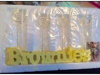 Brand new Brownies photo holder