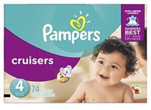 Pampers size 3,4,5 cruisers and swaddlers