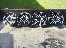 "Genuine Mercedes Amg 19"" alloys"