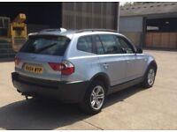 2004 BMW X3 2,0 litre diesel 5dr