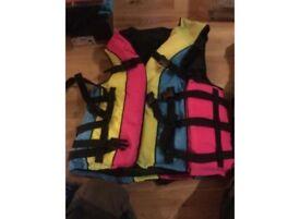 Set of 2 buoyancy aids