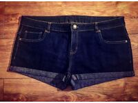 BRAND NEW Dark Blue Denim Jeans - Size 18