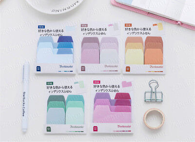 Pastel Color Divider Tab Index Sticky Notes Bookmark Sticker Marker Memo Flags Colored Sticky Notes