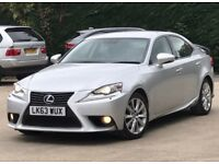 2013 Lexus IS300 2,5 litre 5dr automatic 1 owner