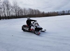 2010 600etec skidoo  trade for atv