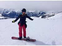 Women's small size snow boarding clothes