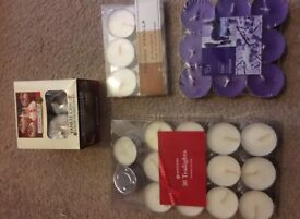 Various Tea lights - £2 each