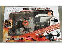 Drone - IRDrone with Camera and VR Headset - Ghost VR model