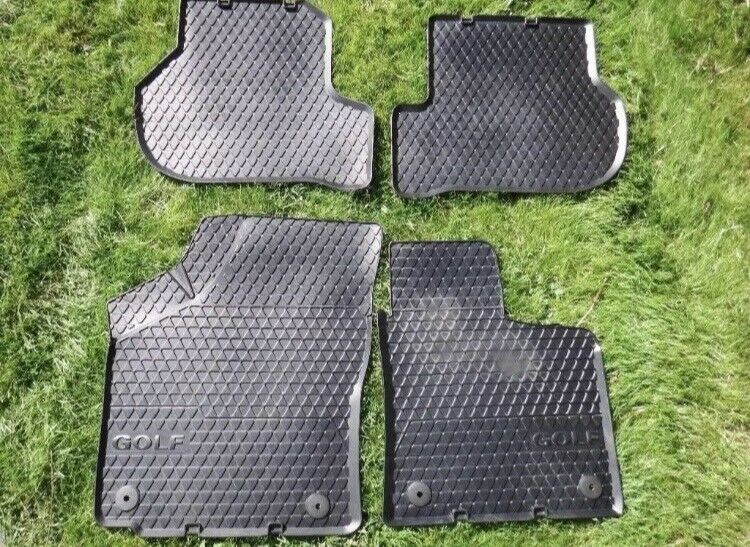 Genuine Vw Golf Mk5 Rubber Floor Mats In Handforth