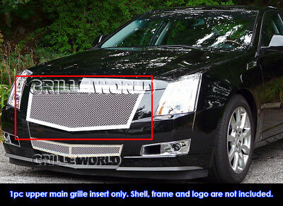 Fits 2008-2013 Cadillac CTS Stainless Steel Mesh Grille Insert