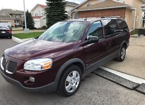 2007 Pontiac Montana low km excellent condition