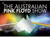 Amazing seats x2 for Australian Pink Floyd in Brighton Fri 27th Oct -FRONT ROW OF THE SOUTH BALCONY!