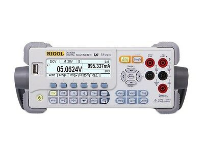 New Rigol 5 Digits Digital Bench-top Multimeter Dm3058 Usb 123rdgss