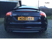 Private Number Plate on Retention MD 10 DAY