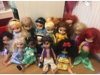 Disney Animation dolls - smoke and pet free home