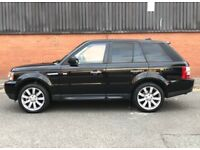 2006 Land Rover Range Rover Sport 2,7 litre diesel 5dr automatic 2 owners