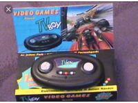 Atari TV Boy Console 127 games