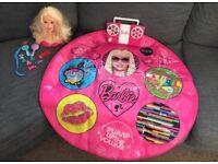 Barbie Bundle dance mat & hair styling