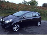 Vauxhall corsa 1.2 excite 5dr 2014 **Good Condition**14k miles**
