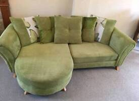DFS 4seater sofa and cuddle chair