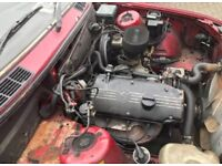Bmw e30 318 carb engine m10